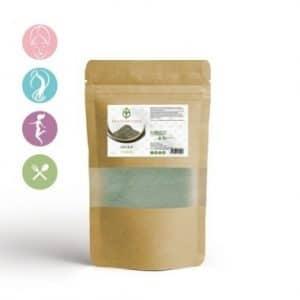 Argile verte en poudre: pour une peau et des cheveux sublimes