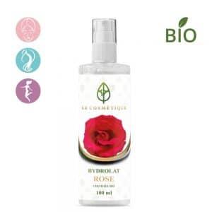 hydrolat de rose 100ml: purification et rafraîchissement du visage