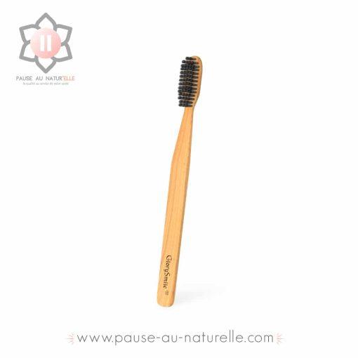 Brosse à dent bambou végétal : disponible chez Pause au Natur'Elle