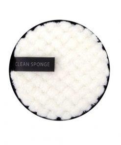 Eponge demaquillante reutilisable et lavable en coton bio