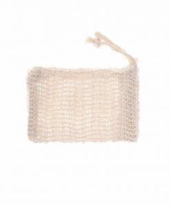 sac à savon en sisal en fibre d'agave 100% naturelle
